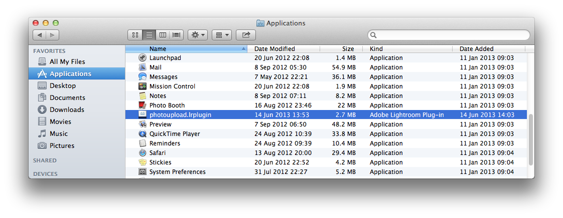 Installation - Plug-in Folder (Mac)